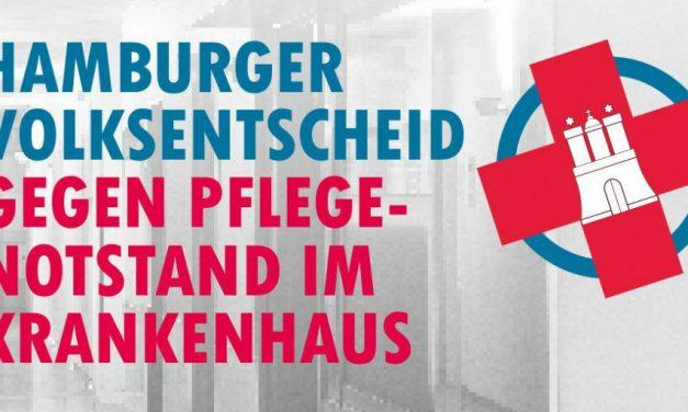 Jetzt Unterschriften sammeln: Gegen den Pflegenotstand in Hamburger Krankenhäusern
